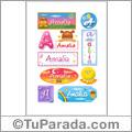 Amalia - Para stickers