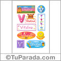 Vitalina - Para stickers