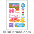 Maggy - Para stickers