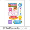 Rita - Para stickers