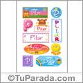 Pilar - Para stickers