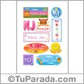 Maria José - Para stickers