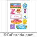 Zuly - Para stickers