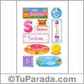 Selene - Para stickers
