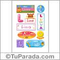 Liuva - Para stickers