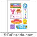 Yerlis - Para stickers