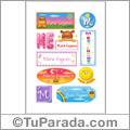 María Eugenia - Para stickers