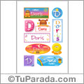 Doris - Para stickers