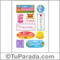 Esmeralda - Para stickers