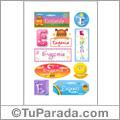 Eugenia, nombre para stickers
