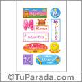 Maritza, nombre para stickers