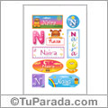Nombre Naira para stickers