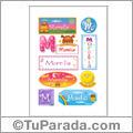 Morelia, nombre para stickers