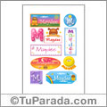 Maydee, nombre para stickers