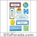 Naim - Para stickers