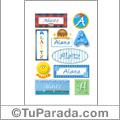 Alaitz - Para stickers