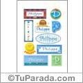 Philippe - Para stickers