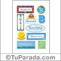 Bautista - Para stickers