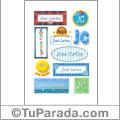José Carlos - Para stickers