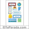 Fabrizio - Para stickers