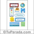 Martín - Para stickers