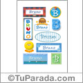 Bruno  - Para stickers