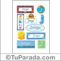 Jorge - Para stickers