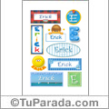Erick - Para stickers