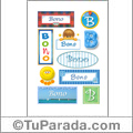 Bono - Para stickers