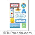 Andrés - Para stickers