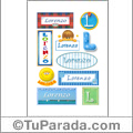 Lorenzo - Para stickers