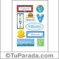 Valentín - Para stickers