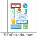 José - Para stickers