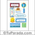 Nombre Ignacio para stickers