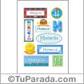 Nombre Horacio para stickers