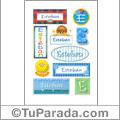 Nombre Esteban para stickers