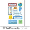 Nombre Francisco para stickers