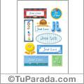 José Luis, nombre para stickers