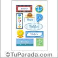 Nombre Pablo para stickers
