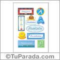 Anastasio, nombre para stickers