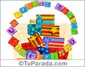 Expandibles - Tarjetas postales: Tarjeta expandible: Un gran abrazo