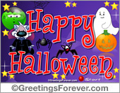 Expandable eCard: Happy Halloween