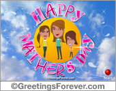 Expandable Mothers Day ecard