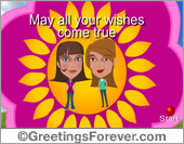Ecard - Expandable friendship eCard
