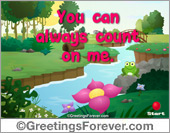 Greeting ecards: Expandable eCard: Special for you
