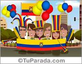 Tarjetas postales: Ecuador