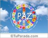 Tarjetas postales: Paz