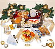Desayuno casero de Navidad