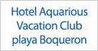 Tarjeta - Hotel Aquarious Vacation Club playa Boqueron: Cabo Rojo, Puerto Rico