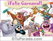 Tarjetas postales: Que pases un carnaval genial